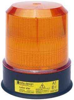 EL Series xenon strobe beacon - amber 110VAC