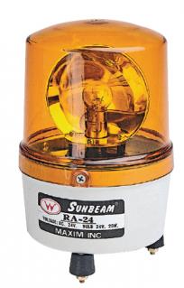 RA Series rotating beacons amber