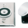 DH-500 Series magnetic door holders – flush wall mount