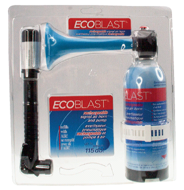 EcoBlast Rechargeable Air Horns