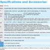 Operational characteristics table