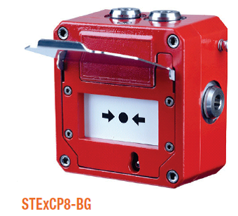 E2S STExCP8 Explosion Proof Manual Call Points