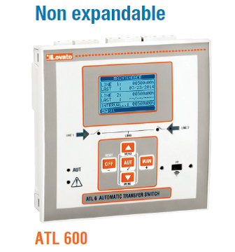 ATL600/610 Automatic Transfer Switch
