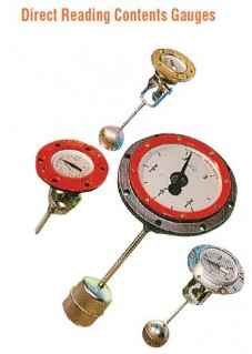 Direct Reading Contents Gauges - Liquid Level Gauges