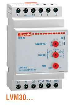 LVM30 Dual-Voltage Level Control Relay