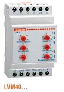 LVM40 single-voltage multi-function Level Control Relay