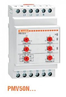Lovato PMV50N Voltage Monitoring Relay