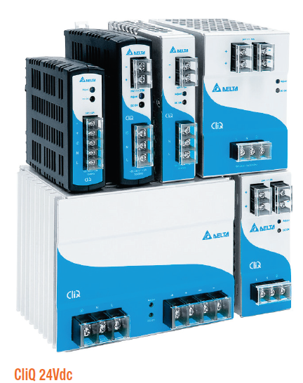 Delta CliQ DIN Rail Switching Power Supplies